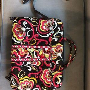 Vera Bradley laptop bag used once